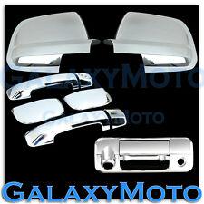 07-13 TOYOTA TUNDRA Mirror+Chrome 4 +D shape Door Handle+Tailgate Camera Cover