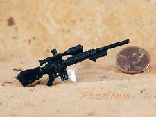 GI Joe 1:18 Action Figur 3.75 Sniper RIFLE Remington MK-11 SR-25 AR-15 G19_C
