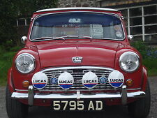 "LUCAS RALLY 576s 6"" 700s 7"" SPOT/FOG LAMP/LIGHT COVERS MINI COOPER-S X 2"