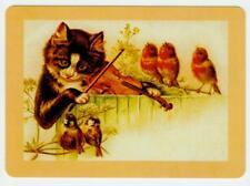 Playing cards swap card  cats single wide