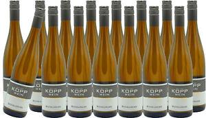 (15 x 0,75l) 19er SCHEUREBE Prädikatswein Erzeugerabfüllung Weingut Kopp