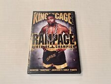 King of the Cage Presents Rampage Birth Of A Champion DVD NEW Quinton Jackson