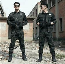 Men Tactical Training Uniform Camouflage Military Outdoor Suit Combat Clothes sz