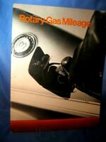 Original Dealer Sales Brochure  1974 ROTARY GAS MILEAGE MAZDA Great Condition