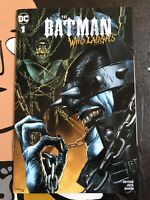 The Batman Who Laughs #1 VARIANT COVER A Mico Suayan Unknown Comics NM+! 🔥