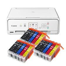 SET CANON PIXMA TS 5050/TS 5051 STAMPANTE FOTOCOPIATRICE SCANNER WI-FI + 15x XL