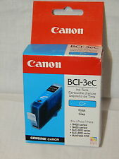 New Genuine Canon BCl-3eC Cyan Printer Ink Cartridge New Unused In Original Box