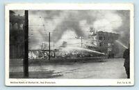San Francisco, CA - MARKET STREET SCENE OF 1906 FIRE DISASTER - POSTCARD
