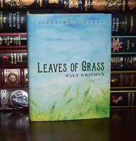 Leaves of Grass by  Walt Whitman New Deluxe Hardcover Classics Gift