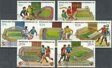 Timbres Sports Football Guinée 692/5 PA145/7 o lot 9767