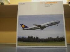 Herpa Wings 1:200 Boeing 747-8 Lufthansa Intercontinental Retro 557221