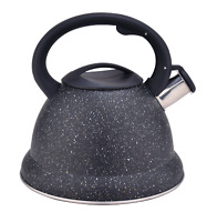 Stainless Steel 3.4QT Water Pot Whistling Tea Kettle Durable Stovepot Teapot