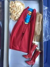 """TYLER CAPTAIN ACTION TONNER 16"""" SUPERGIRL DOLL OUTFIT NEW YORK COMICON NYCC 2014"""