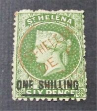 nystamps British St. Helena Stamp # 23 Used $160
