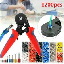 Crimping Tool Set Crimp Wire Plier Tools 1200pcs Wire Ferrule Terminals Kit