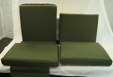 M998 HUMVEE SEAT CUSHION SET FOR 4 SEATS GR 12342067 12342047 12342068 12342061