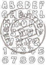 Marianne Design Clear Rubber Stamp Set PATCHWORK ALPHABET - CS0921 Reduced