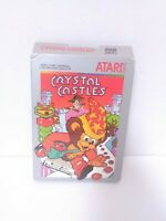 Crystal Castles (Atari 2600, 1984) Box Only Good Condition Fast Shipping!