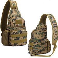 Mens Canvas Shoulder Bag Messenger Bag Sport Travel Hiking School Bag Backpack