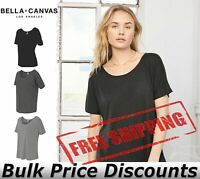 Bella + Canvas Women's Slouchy Tee T Shirt Top Blank 8816 up to 2XL