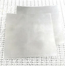 2pcs 304 Stainless Steel Fine Plate Sheet Foil 0.2mm x 100mm x 100mm