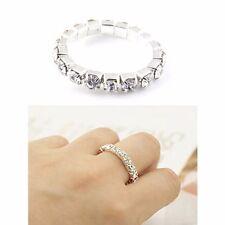 Markenlose Modeschmuck-Ringe mit Stern-Schliffform für Damen