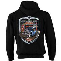 Hotrod 58 Hot Rat Rod Zip Hoody Hoodie American Classic Vintage Garage Grill 29
