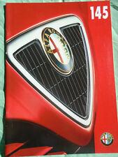Alfa Romeo 145 brochure Feb 1997
