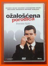 Ožaloscena Porodica DVD TV drama Ekranizacija 1989 Srbija Branislav Nusic