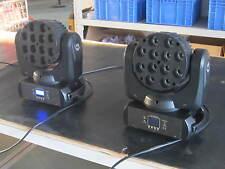 4pcs 12*10W Led Beam Moving Head Wash Club Light RGBW Flight Case Free Shipping