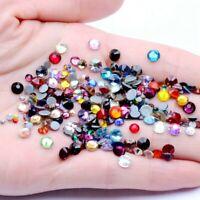 SS3-SS30 Hot Fix Rhinestones Hotfix Flatback Glass Stones For Clothes garment