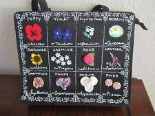 Zodiac Flower Lulu Guiness Handbag