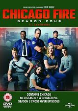 Chicago Fire Complete Series 4 DVD All Episodes Fourth Season Original UK NEW R2