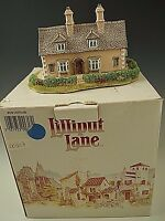 LILLIPUT LANE BOW COTTAGE 1992 MINIATURE MASTERPIECES WITH DEED NM CONDITION