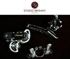 Huret Success Titanium Derailleur Set + Clamp On Shifters Vintage Road Bike Set