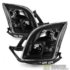 Blk 2006 2007 2008 2009 Ford Fusion Headlights Headlamps Aftermarket Left+Right