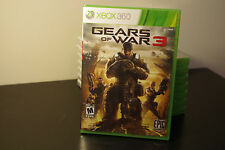 Gears of War 3 (Microsoft Xbox 360, 2011) New / Factory Sealed