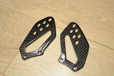 BMW S1000R S1000RR HP4 100% carbon fibre heel guards Motarrad TWILL