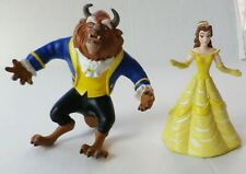 Vintage 90's Disney Beauty and the Beast Toy Lot Belle & Beast Just Toys