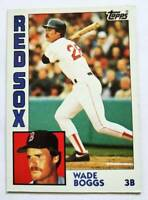 Wade Boggs Topps 1984 MLB Trading Card #30 Boston Red Sox
