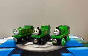 Thomas & Friends Wooden Railway Train Tank Engine DUCK, OLIVER, & PERCY