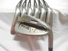 Used RH Ping S58 Iron Set 4-PW Ping CS Lite Steel Stiff Flex Orange Dot S-Flex