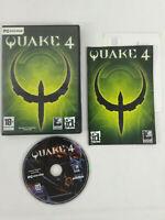 Jeu PC VF  Quake 4  avec notice  Envoi rapide et suivi