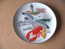 "1983 Down East Crafts Cape Cod small plate decor 7.7"" Massachusetts"