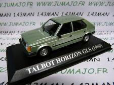 VA7 voiture 1/43 IXO altaya : TALBOT HORIZON 1980 verte