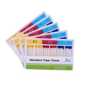 5 Kits AZDENT Dental Absorbent Paper Points F1 F2 F3 Root Endodontics