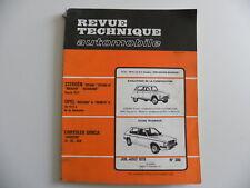 revue technique automobile RTA CHRYSLER HORIZON LS.GL.GLS