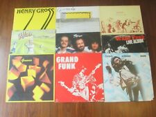 Lot of 10 CLASSIC ROCK LP Records Genesis Steve Gibbons Band Henry Gross Refugee