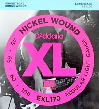 D'ADDARIO EXL170 Light muta corde per basso