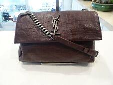 Saint Laurent YVES West Hollywood Bag Bordeaux